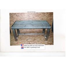 mobilier pour jardin